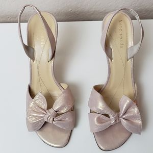 kate spade new york lora open toe sandals 6M